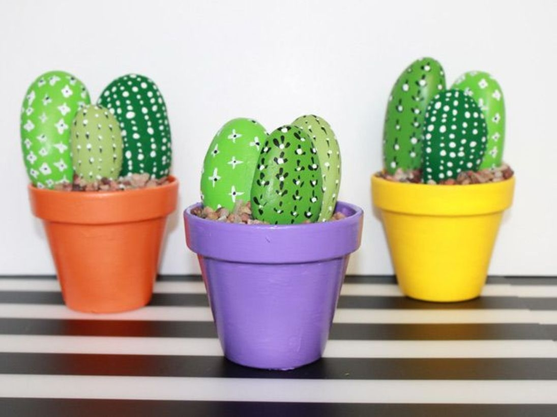 Faux cactus and succulent projects and ideas to decorate your home 03