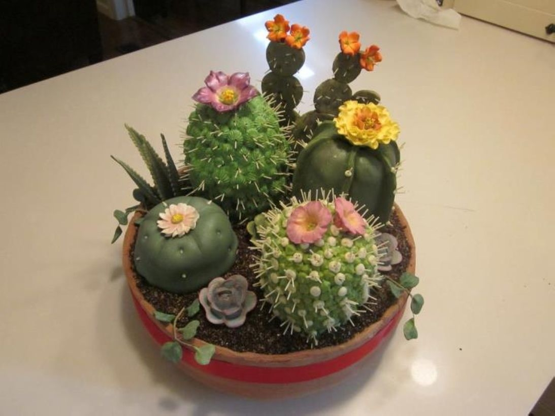 Faux cactus and succulent projects and ideas to decorate your home 06