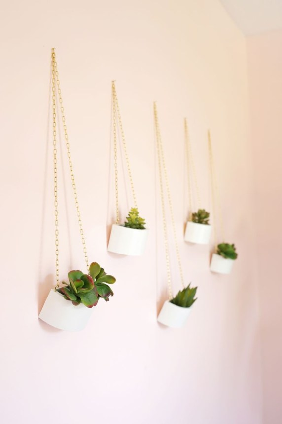 Faux cactus and succulent projects and ideas to decorate your home 30