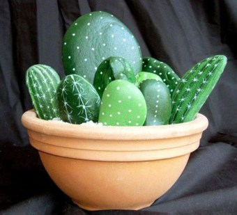 Faux cactus and succulent projects and ideas to decorate your home 38