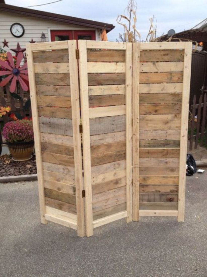 Furniture pallet projects you can diy for your home 01