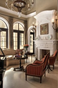 High ceilings accent wall with traditional and classic look 09