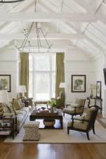 High ceilings accent wall with traditional and classic look 29