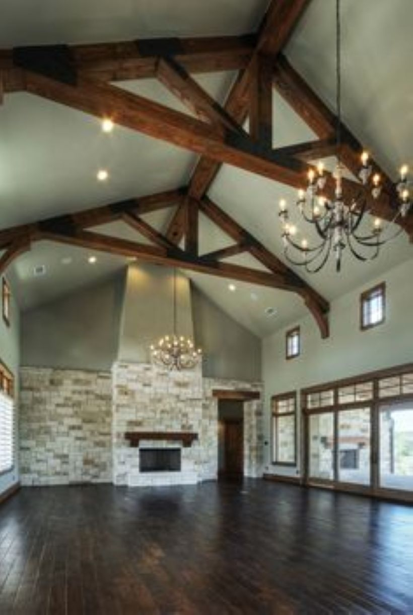 High ceilings accent wall with traditional and classic look 42