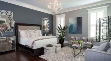 High ceilings accent wall with traditional and classic look 45