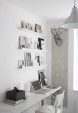 Neat and clean minimalist workspace design ideas for your home 02