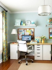 Neat and clean minimalist workspace design ideas for your home 03