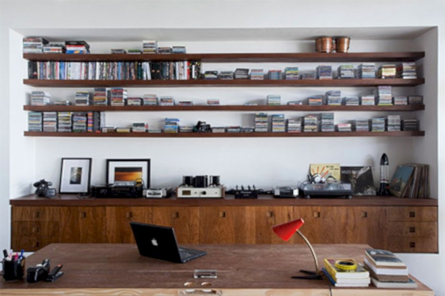 Neat and clean minimalist workspace design ideas for your home 10