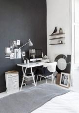 Neat and clean minimalist workspace design ideas for your home 12