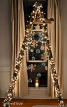 Non-traditional christmas tree to give to your home 08