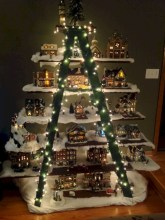 Non-traditional christmas tree to give to your home 09