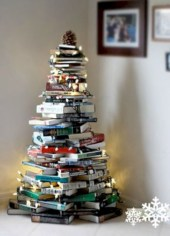 Non-traditional christmas tree to give to your home 24