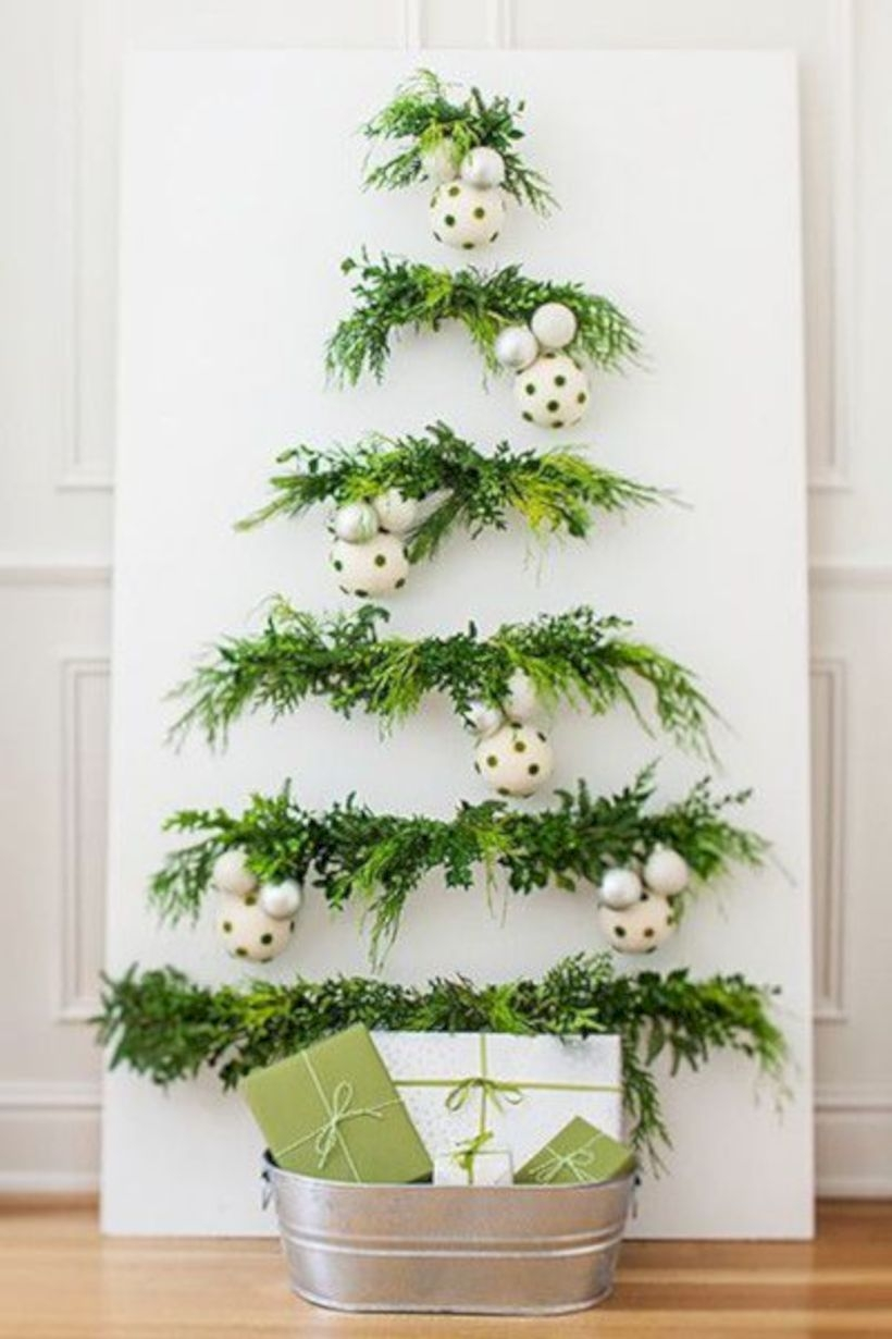 Non-traditional christmas tree to give to your home 26