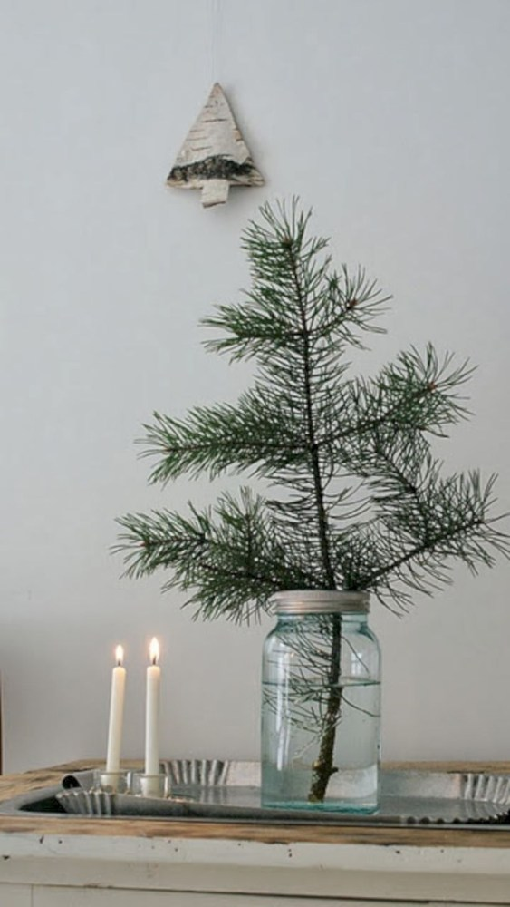 Non-traditional christmas tree to give to your home 27