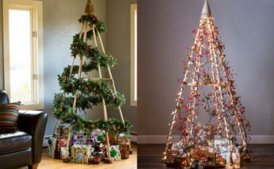 40 Non-traditional Christmas Tree to Give to Your Home