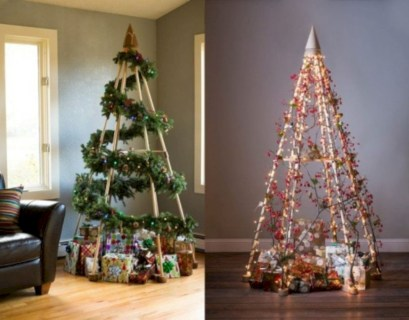 Non-traditional christmas tree to give to your home 37