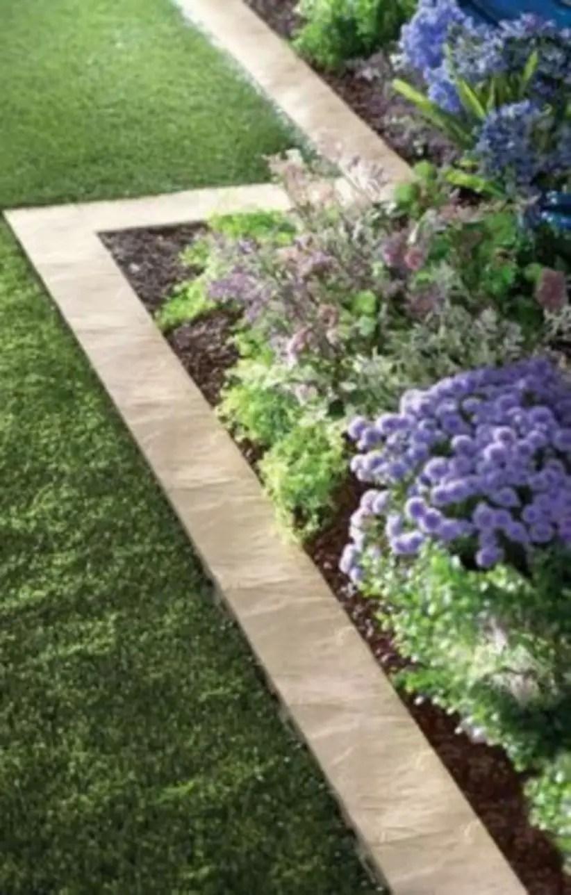 Outdoor garden decor landscaping flower beds ideas 46