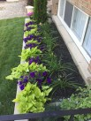 Outdoor garden decor landscaping flower beds ideas 48