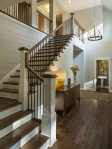 Painted staircase ideas which make your stairs look new 13
