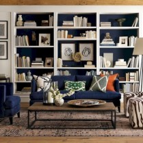 Pieces to create a stylish bookcase instantly 07