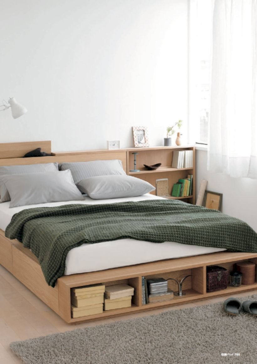 Raised platform bed to define your sleep space easily 02