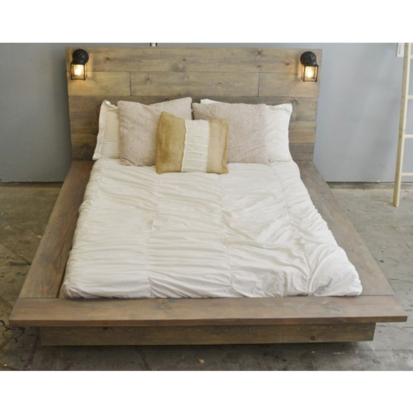 Raised platform bed to define your sleep space easily 04