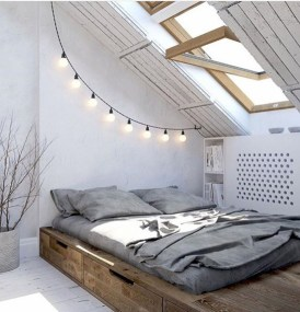 Raised platform bed to define your sleep space easily 15