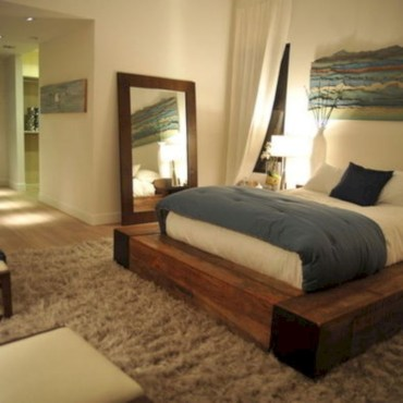Raised platform bed to define your sleep space easily 18