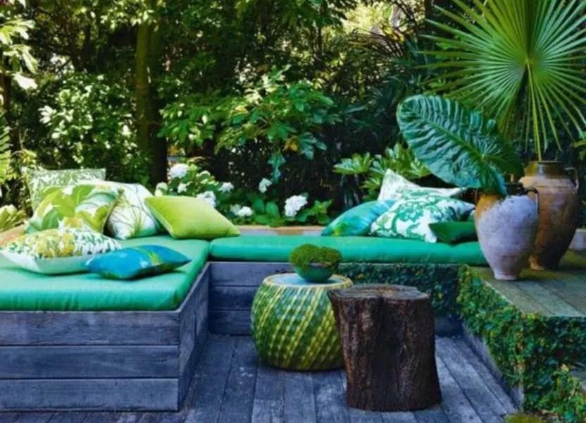 Shabby chic and bohemian garden ideas 07