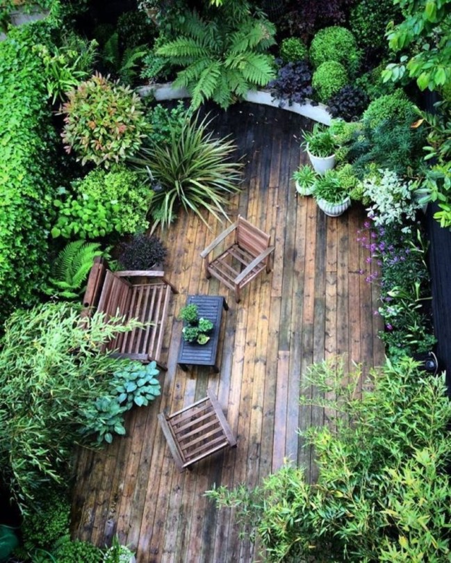 Shabby chic and bohemian garden ideas 15