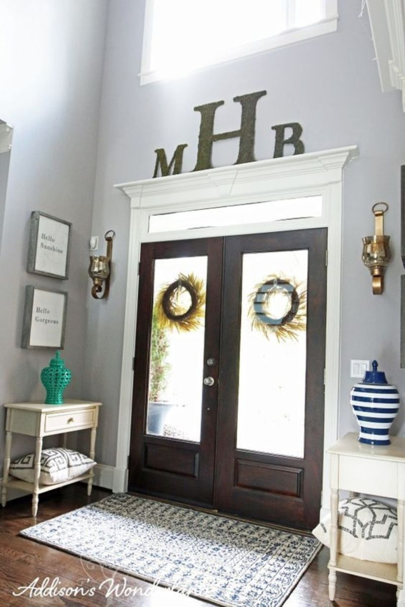 Simple and elegant entry way to inspire you 08