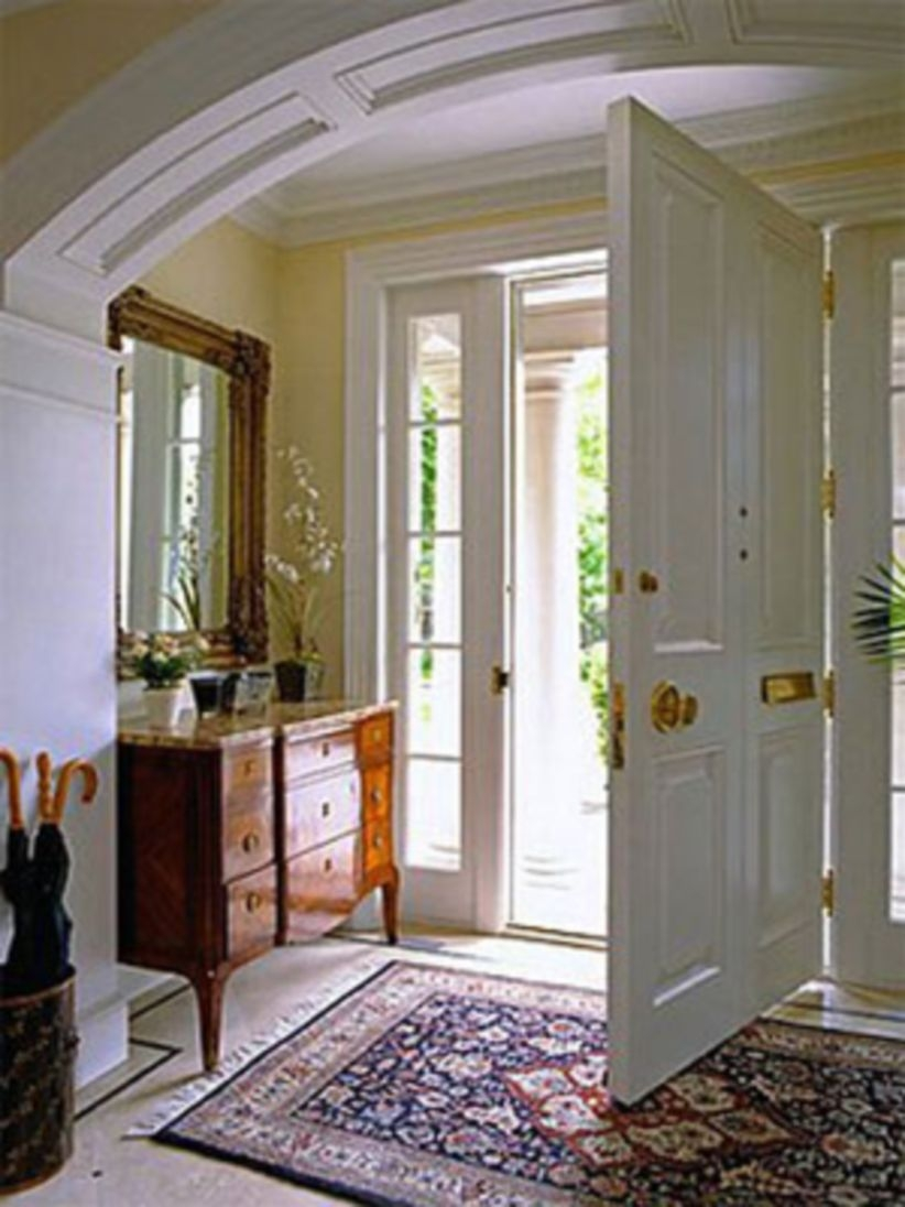 Simple and elegant entry way to inspire you 10