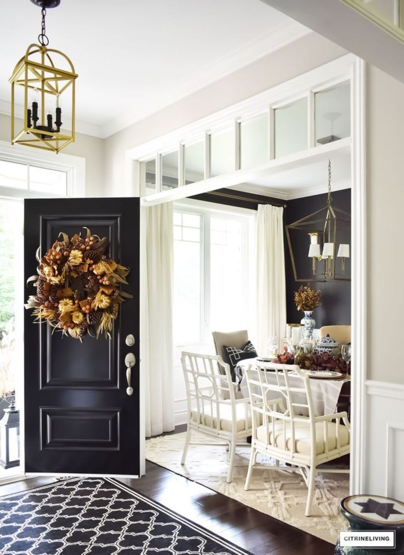Simple and elegant entry way to inspire you 20