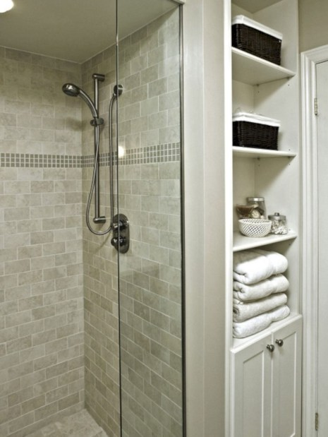 Stand up shower design ideas to copy right now 20