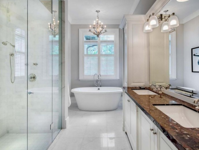 Stand up shower design ideas to copy right now 42