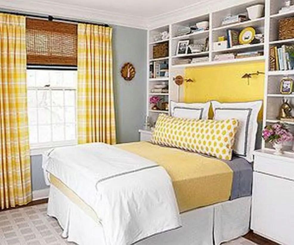 Stunning bookshelves ideas for bedroom decoration 28