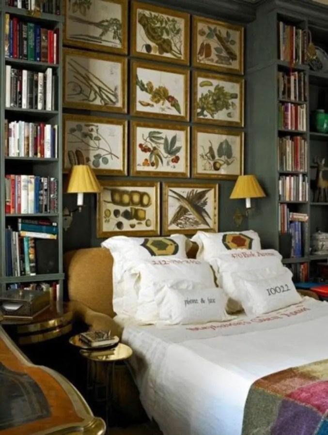 Stunning bookshelves ideas for bedroom decoration 36