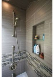 Stunning mosaic tiled wall for your bathroom 16