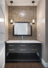 Stunning mosaic tiled wall for your bathroom 17