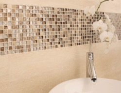 Stunning mosaic tiled wall for your bathroom 19