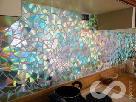 Stunning mosaic tiled wall for your bathroom 20
