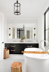 Stunning wood accents to refresh your bathroom 18