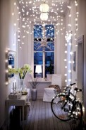 Twinkly ways to light up your home with christmas fairy light 34