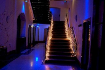 Twinkly ways to light up your home with christmas fairy light 35