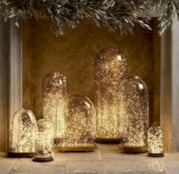Twinkly ways to light up your home with christmas fairy light 38