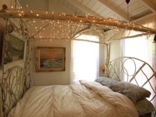 Twinkly ways to light up your home with christmas fairy light 45