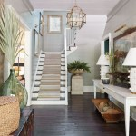 Ways to decorate with chandelier over the stairs 29