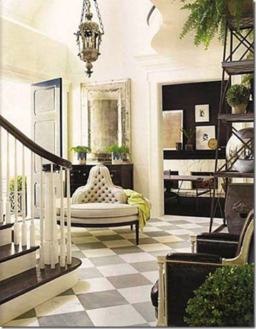 Ways to decorate with chandelier over the stairs 36