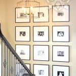 Ways to decorate with chandelier over the stairs 41