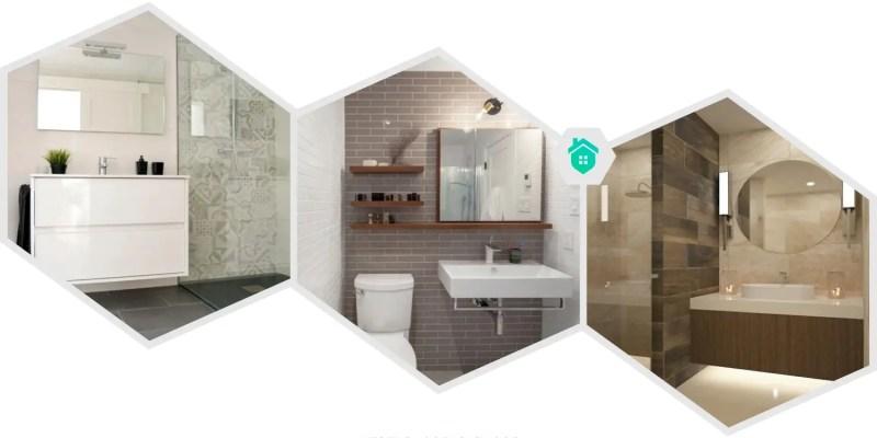 18. classic glass block shower